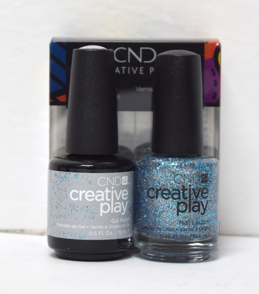 CND Creative Play Gel Set - #459 - Kiss + Teal
