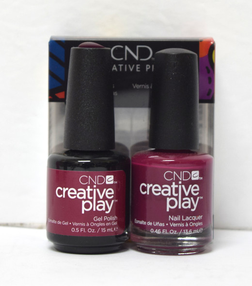 CND Creative Play Gel Set - #460 - Berry Busy