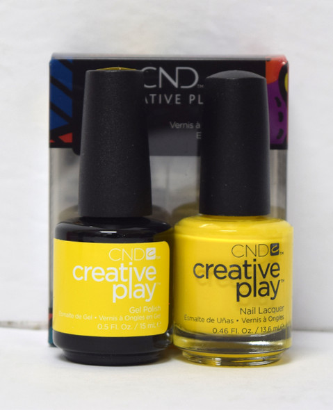 CND Creative Play Gel Set - #462 - Taxi, Please