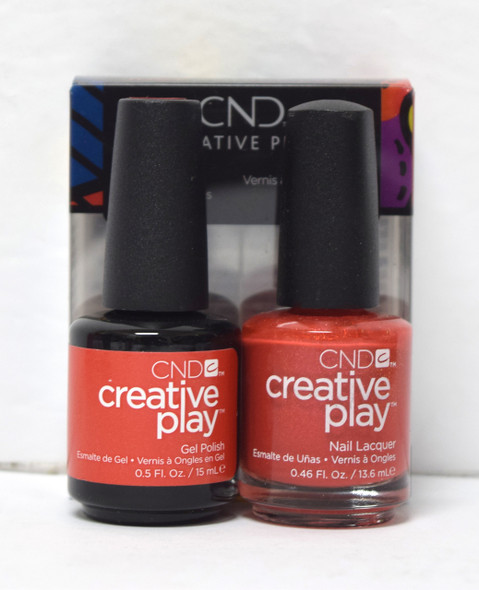 CND Creative Play Gel Set - #463 - See U in Sienna
