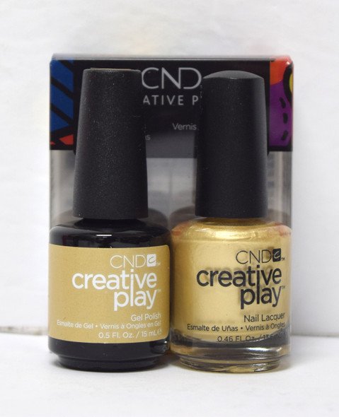 CND Creative Play Gel Set - #464 - Poppin Bubbly