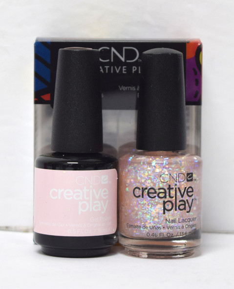 CND Creative Play Gel Set - #466 - Got a Light?