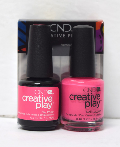 CND Creative Play Gel Set - #472 - Read My Tulips