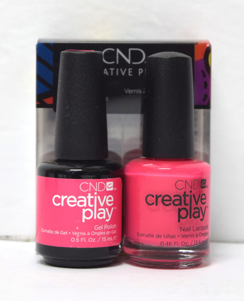CND Creative Play Gel Set - #474 - Peony Ride