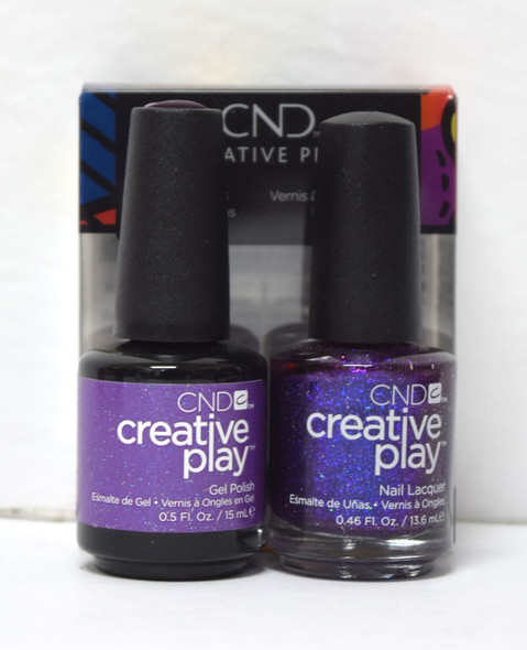 CND Creative Play Gel Set - #475 - Positivlt Plumsy