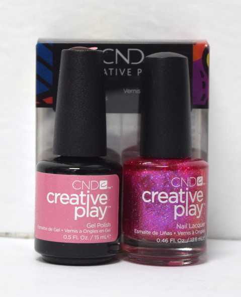 CND Creative Play Gel Set - #479 - Dazzleberry