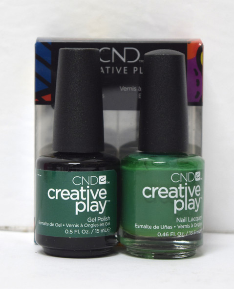 CND Creative Play Gel Set - #485 - Happy Holly Day