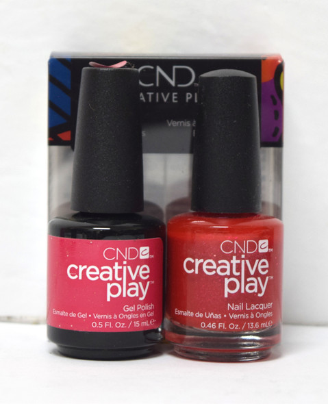 CND Creative Play Gel Set - #486 - Revelry Red