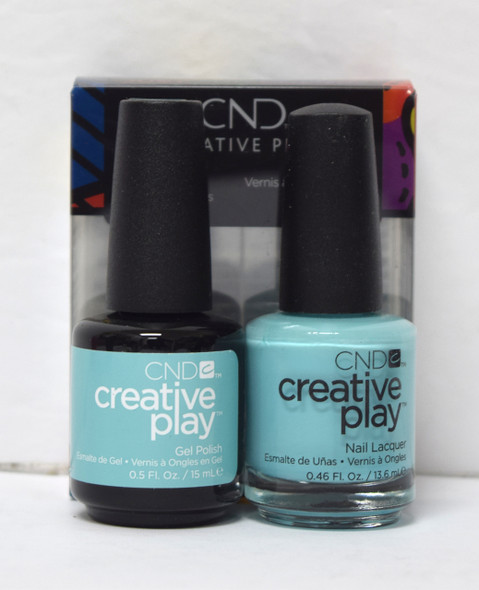 CND Creative Play Gel Set - #492 - Amuse-Mint