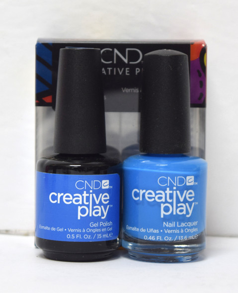 CND Creative Play Gel Set - #493 - Aquaslide