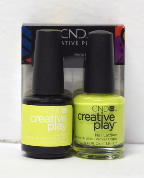 CND Creative Play Gel Set - #494 - Carou-Celery