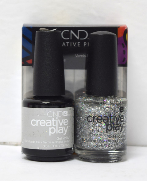 CND Creative Play Gel Set - #498 - Bling Toss