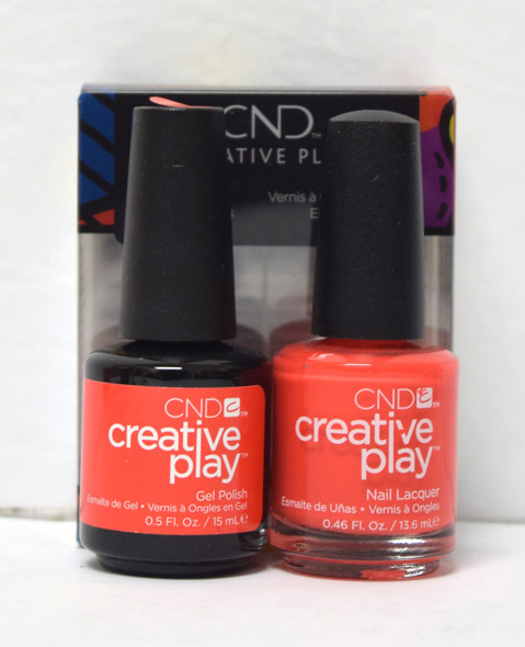 CND Creative Play Gel Set - #499 - Tangerine Rush