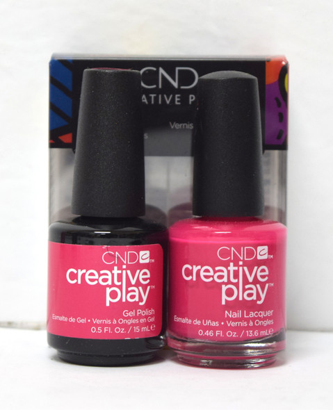 CND Creative Play Gel Set - #500 - Fuchsia Fling