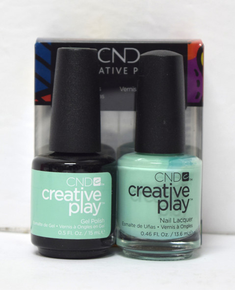 CND Creative Play Gel Set - #501 - Shady Palms
