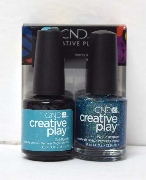 CND Creative Play Gel Set - #502 - Express Up Em-Oceans