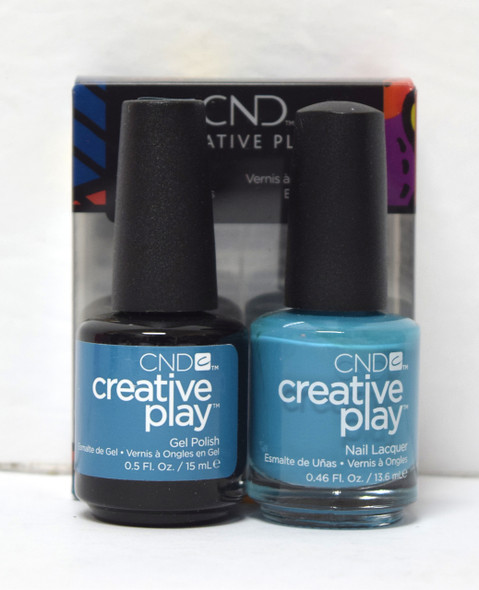 CND Creative Play Gel Set - #503 - Teal the Wee Hours