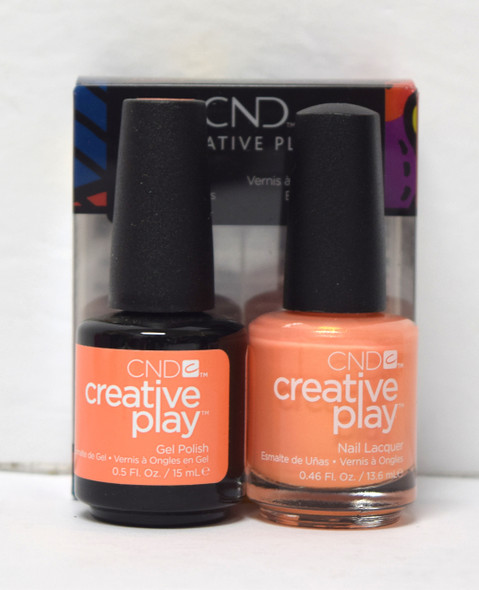 CND Creative Play Gel Set - #517 - Fired Up