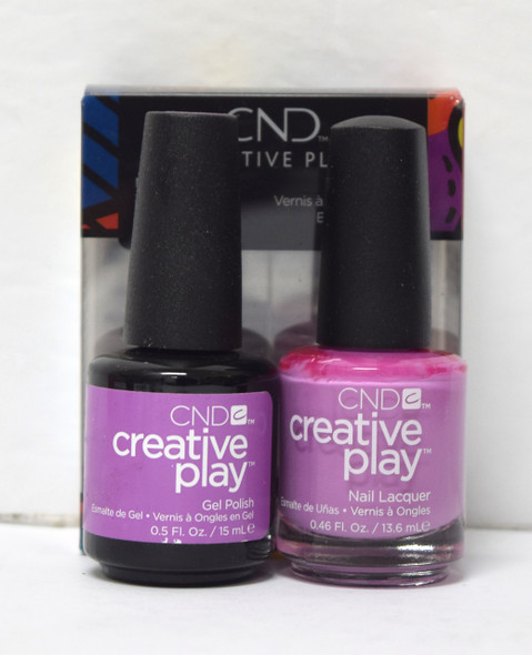 CND Creative Play Gel Set - #518 - Charged