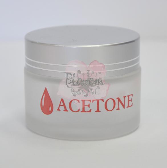 Glass Jar - Acetone
