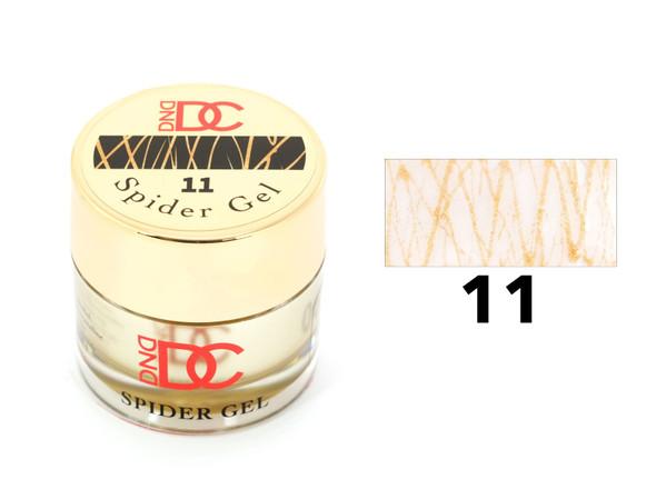 DND Spider Gel - #11 Gold Shimmer