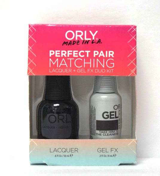 Orly Gel Set #172 - Take Him to the Cleaners