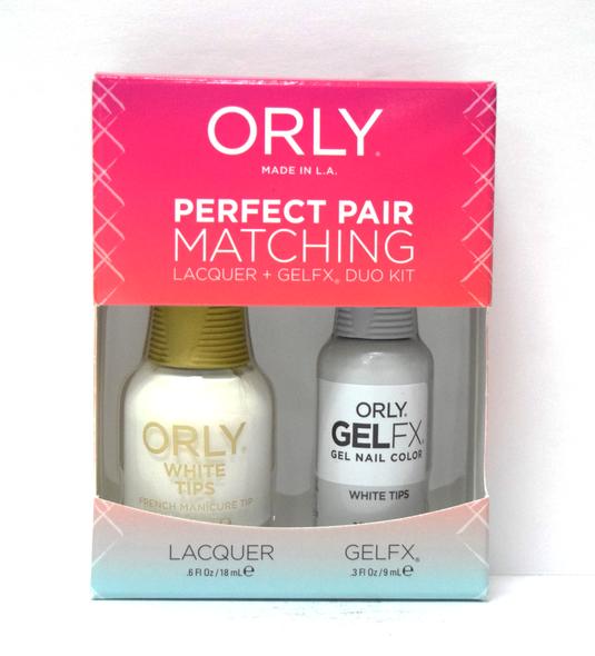 Orly Gel Set #100 - White Tips