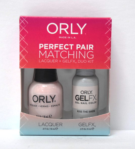 Orly Gel Set #101 - Kiss the Bride