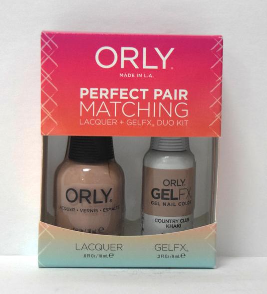 Orly Gel Set #102 - Country Club Khaki