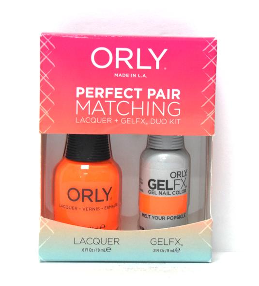 Orly Gel Set #111 - Melt Your Popsicle