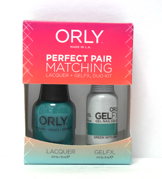 Orly Gel Set #116 - Green with Envy
