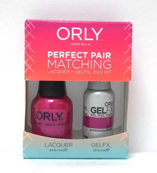 Orly Gel Set #119 - Hawaiian Punch