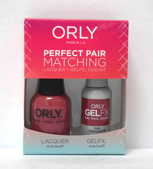 Orly Gel Set #132 - Pink Chocolate