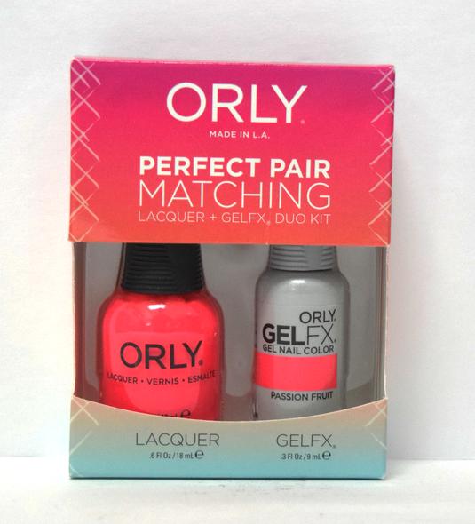 Orly Gel Set #136 - Passion Fruit