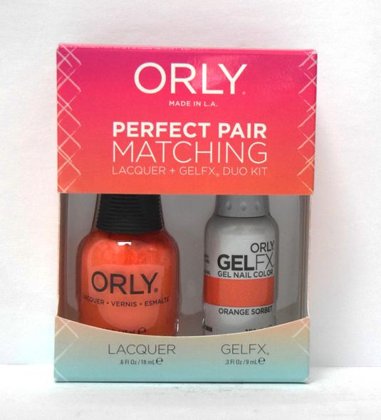 Orly Gel Set #139 - Orange Sorbet