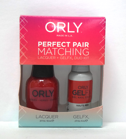 Orly Gel Set #140 - Haute Red