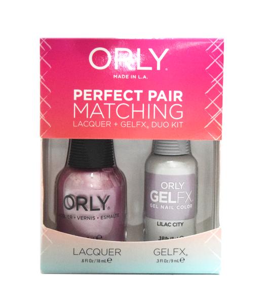 Orly Gel Set #222 - Lilac City