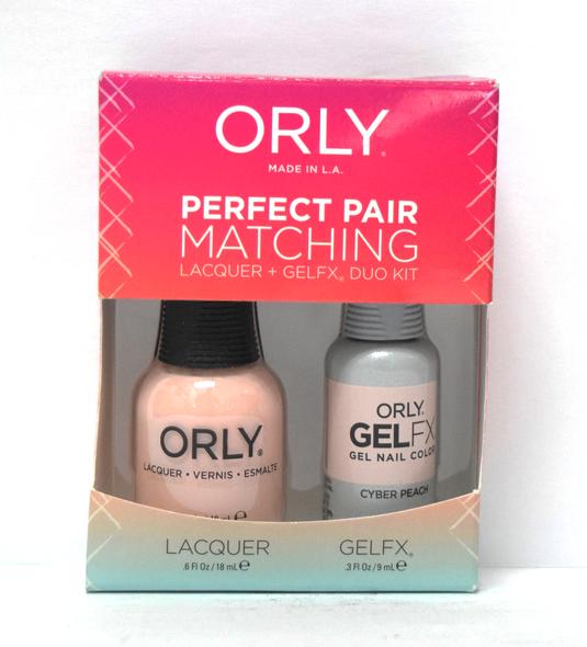 Orly Gel Set #225 - Cyber Peach