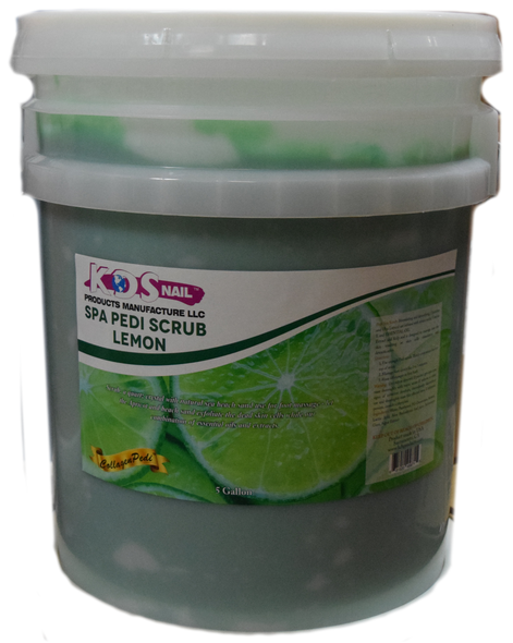 KDS 5 Gal. - Spa Pedi Scrub Lemon