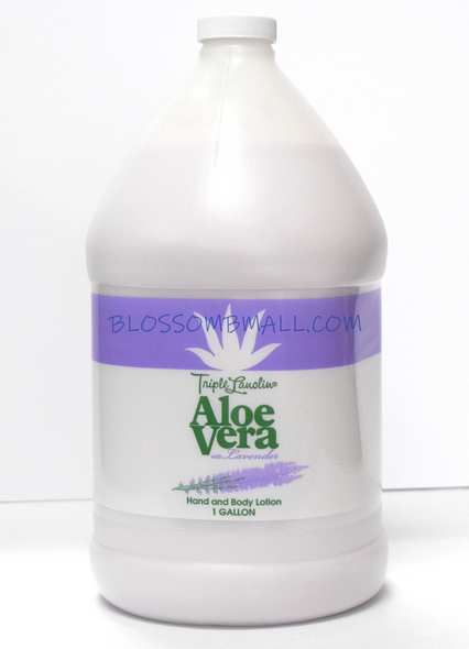 Aloe Vera Lotion with Lavender - Gal.