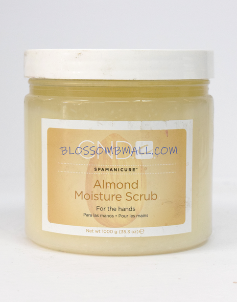 CND Almond Moisture Scrub - 35oz