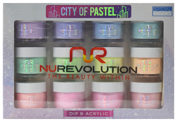 NuRevolution - City of Pastel Collection