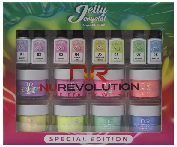 NuRevolution - Jelly Crystal Collection