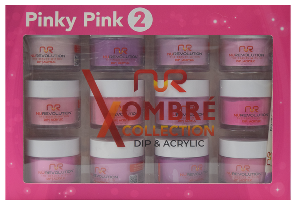 NuRevolution - Pinky Pink 2 Collection