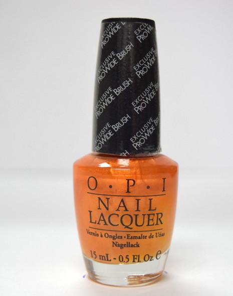 OPI NL B41 - Totally Tangerine