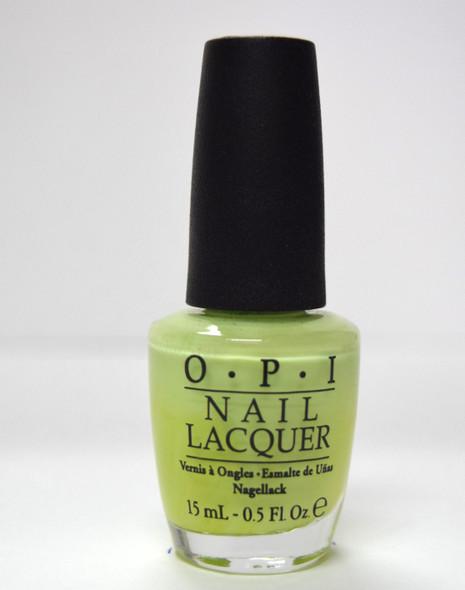 OPI NL B44 - Gargantuan Green Grape