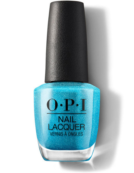 OPI NL B54 - Teal The Cows Come Home