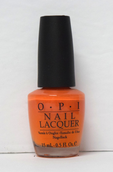 OPI NL D13 - Tangerine Scene