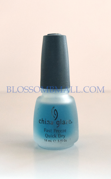 China Glaze Fast Freeze Quick Dry Top