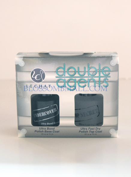 Lechat Double Agent Base & Top Coat Set